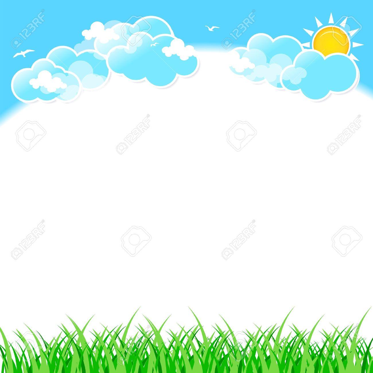 Sunny Sky Clip Art – Cliparts