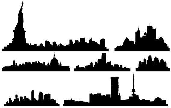 nyc skyline clip art clipart panda free clipart images rh clipartpanda com nyc skyline black and white clipart new york skyline clipart