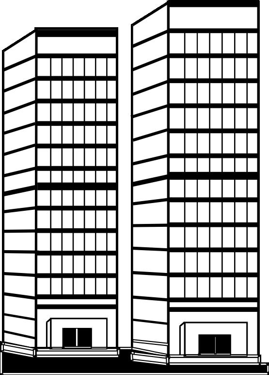 Clip Art Skyscraper Clipart skyscraper clipart black and white panda free clipart