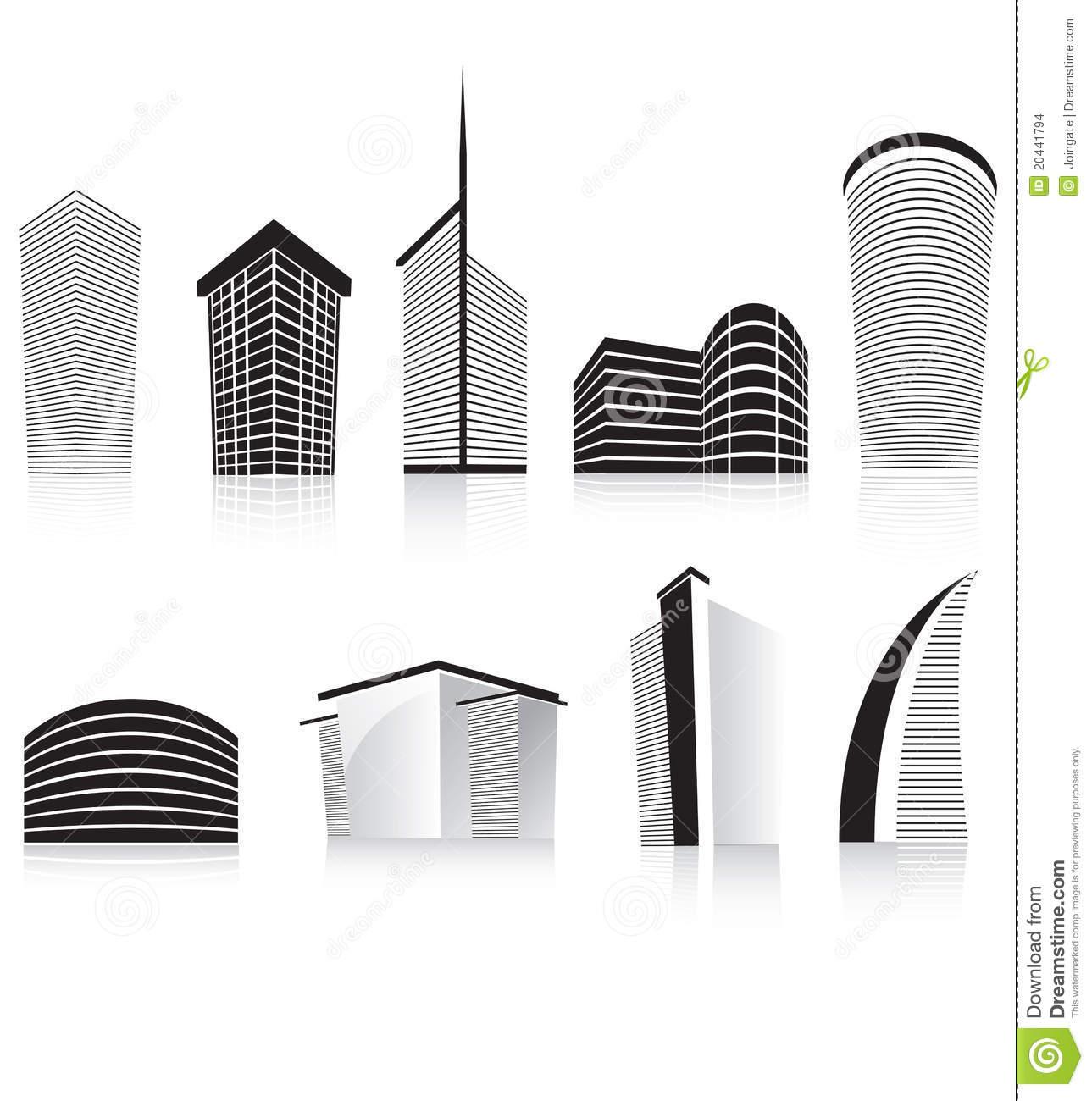 Skyscraper Clipart Black And White   Clipart Panda - Free ...