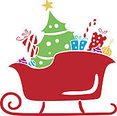 christmas sleigh clip art clipart panda free clipart images clipart panda
