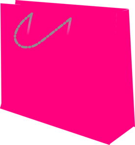 Pink Gift Bag Clipart