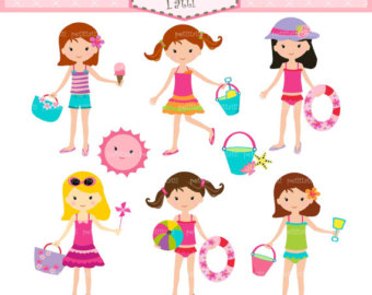 girls clip art beach summer clipart panda free clipart images rh clipartpanda com free clipart sleepover party clipart sleepover party