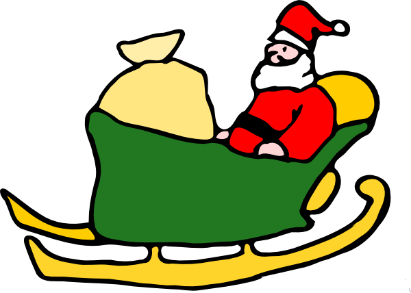 Sleigh Clipart | Clipart Panda - Free Clipart Images