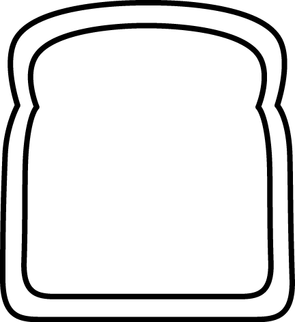 slice of bread clipart black and white clipart panda free rh clipartpanda com slice of bread clipart free slice of bread clipart black and white