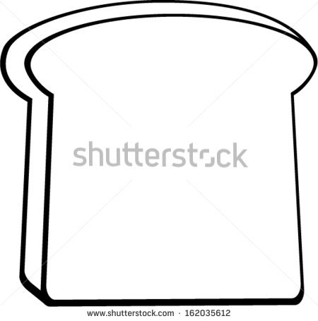 slice of bread clipart black and white clipart panda free rh clipartpanda com 2 slices of bread clipart slice of bread clipart black and white