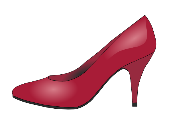 Red Shoes Transparent Clipart