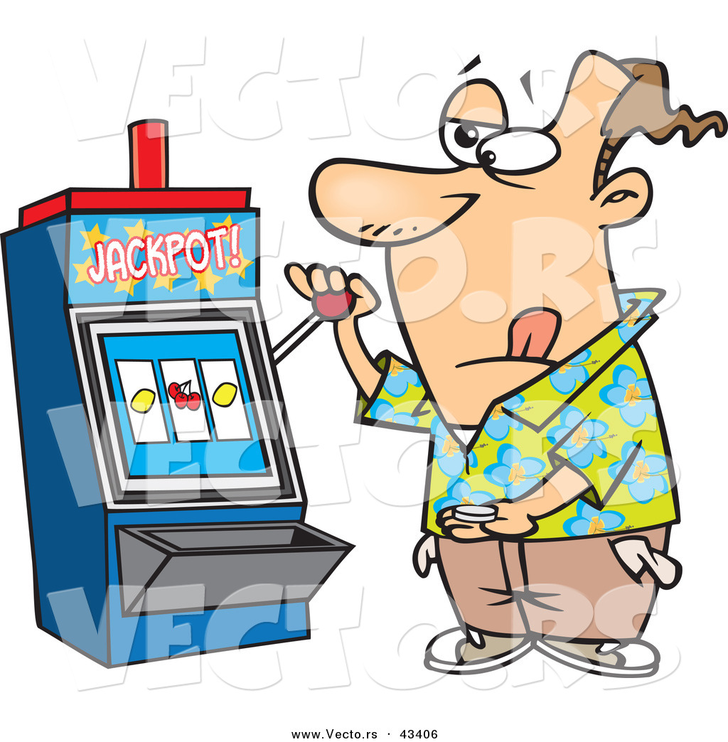 slot-clipart-vector-of-a-gambling-cartoon-man-at-a-casino-slot-machine-by-ron-leishman-43406.jpg