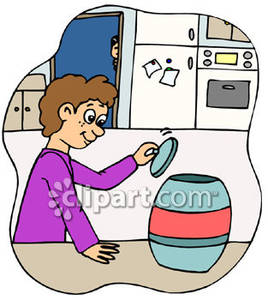 Boy Getting Into a Cookie Jar | Clipart Panda - Free ...