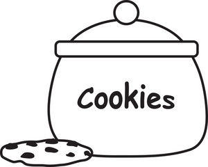 Smart Cookie Jar Clipart | Clipart Panda - Free Clipart Images