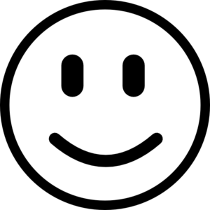 Smile Clipart Black And White   Clipart Panda - Free ...