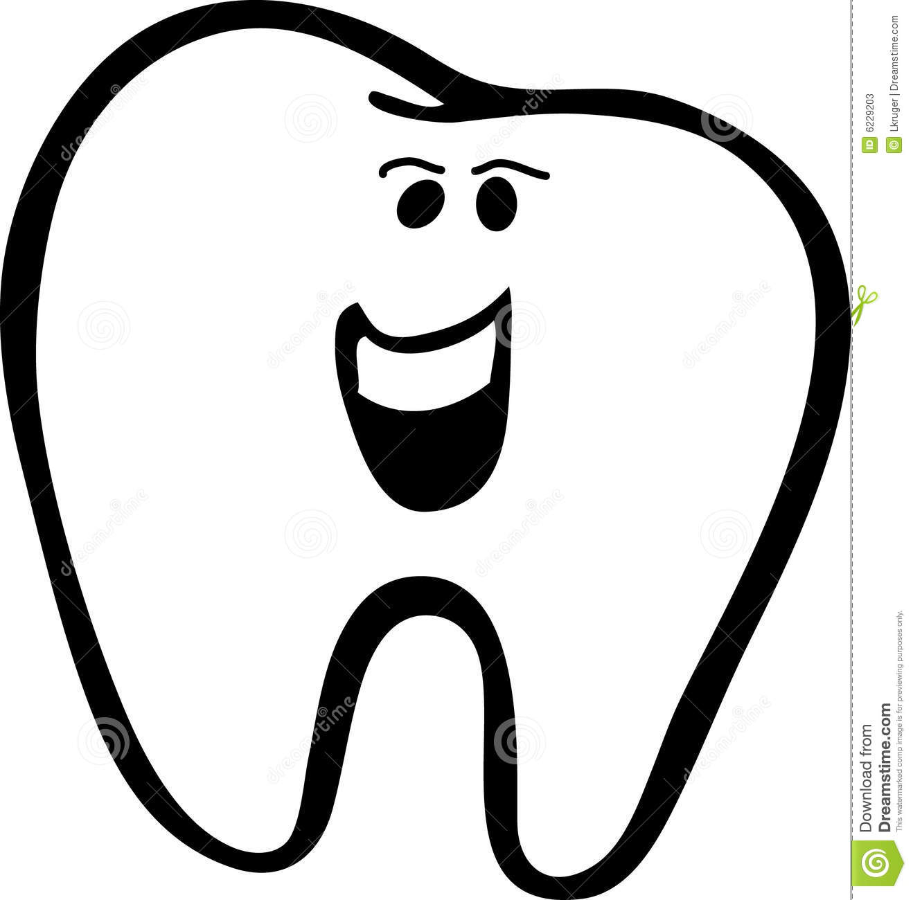 Smile Clipart Black And White
