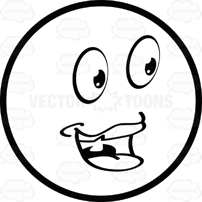 smiley face black and white clipart panda free clipart