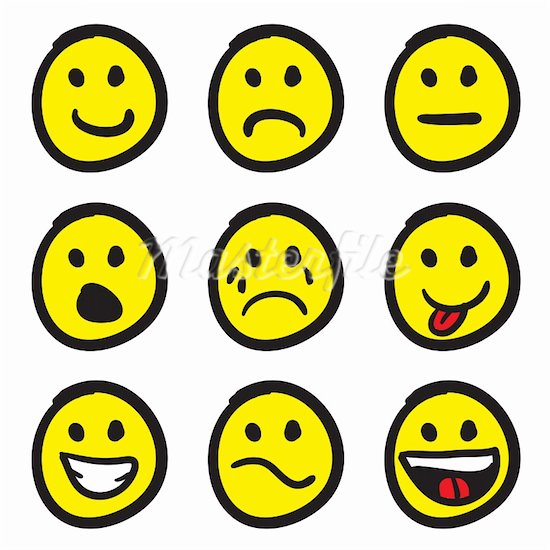 Smiley Face Clip Art Emotions | Clipart Panda - Free ...