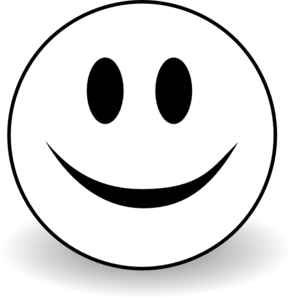 Smiley Face Clip Art Black And White | Clipart Panda ...