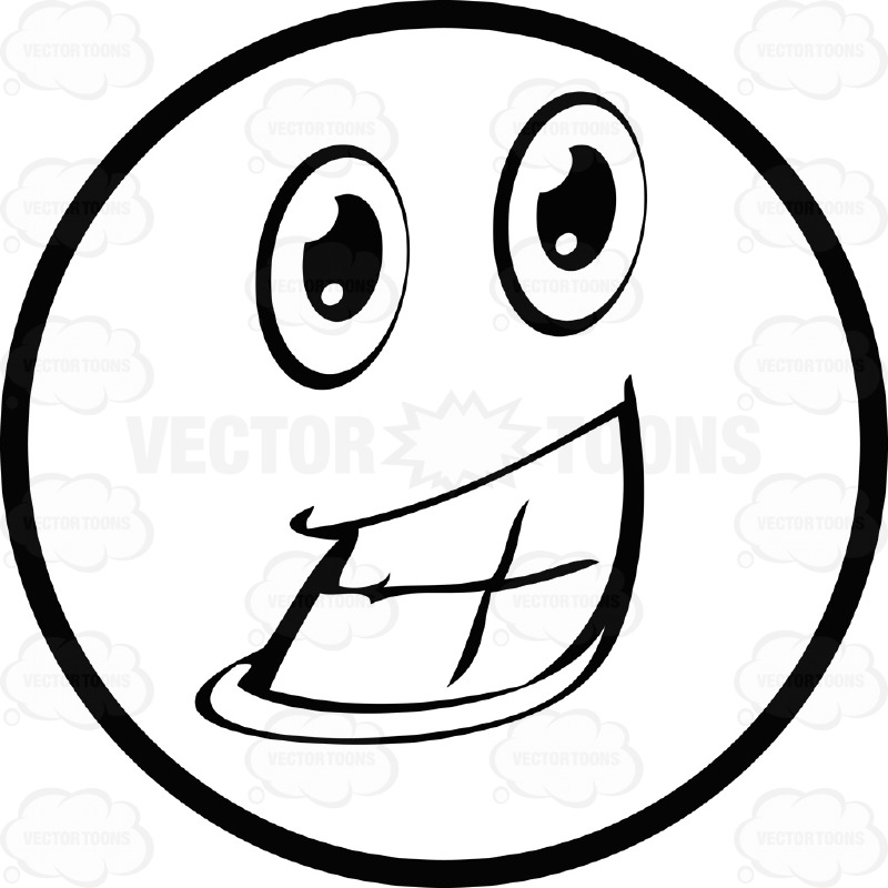 Smiley Face Thumbs Up Clipart Black And White | Clipart ...
