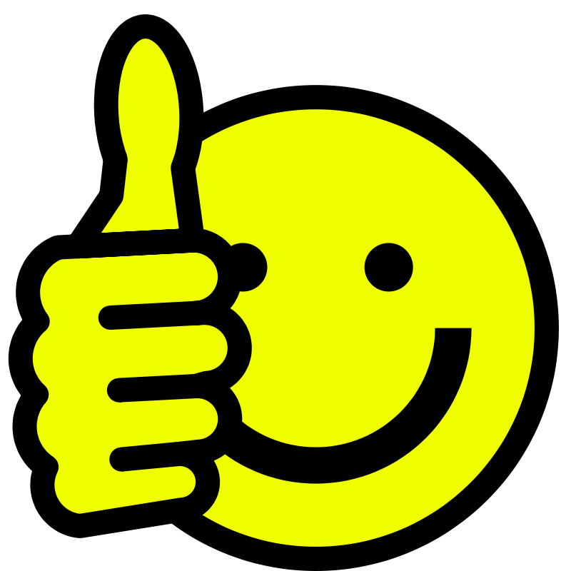 Smiley Face Thumbs Up Png | Clipart Panda - Free Clipart ...