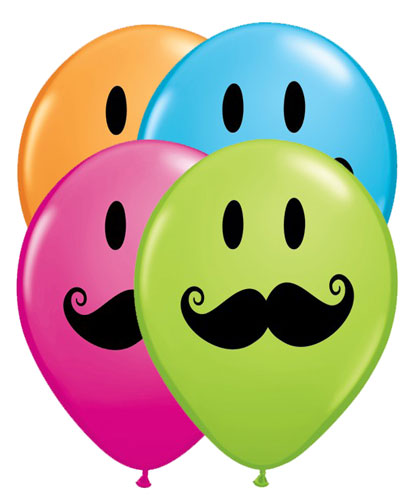 Smiley Face With Mustache | Clipart Panda - Free Clipart ...