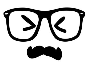 Sad face mustac.   Clipart Panda - Free Clipart Images