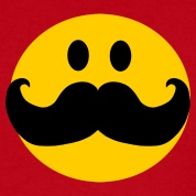 Smiley Face With Rainbow Mustache | Clipart Panda - Free ...