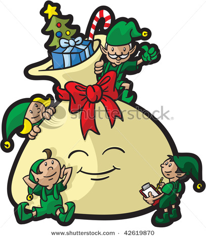 Christmas Gift Bag Clipart | Clipart Panda - Free Clipart Images