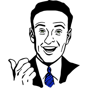 Smile clip art vectorSmiling Man Clipart