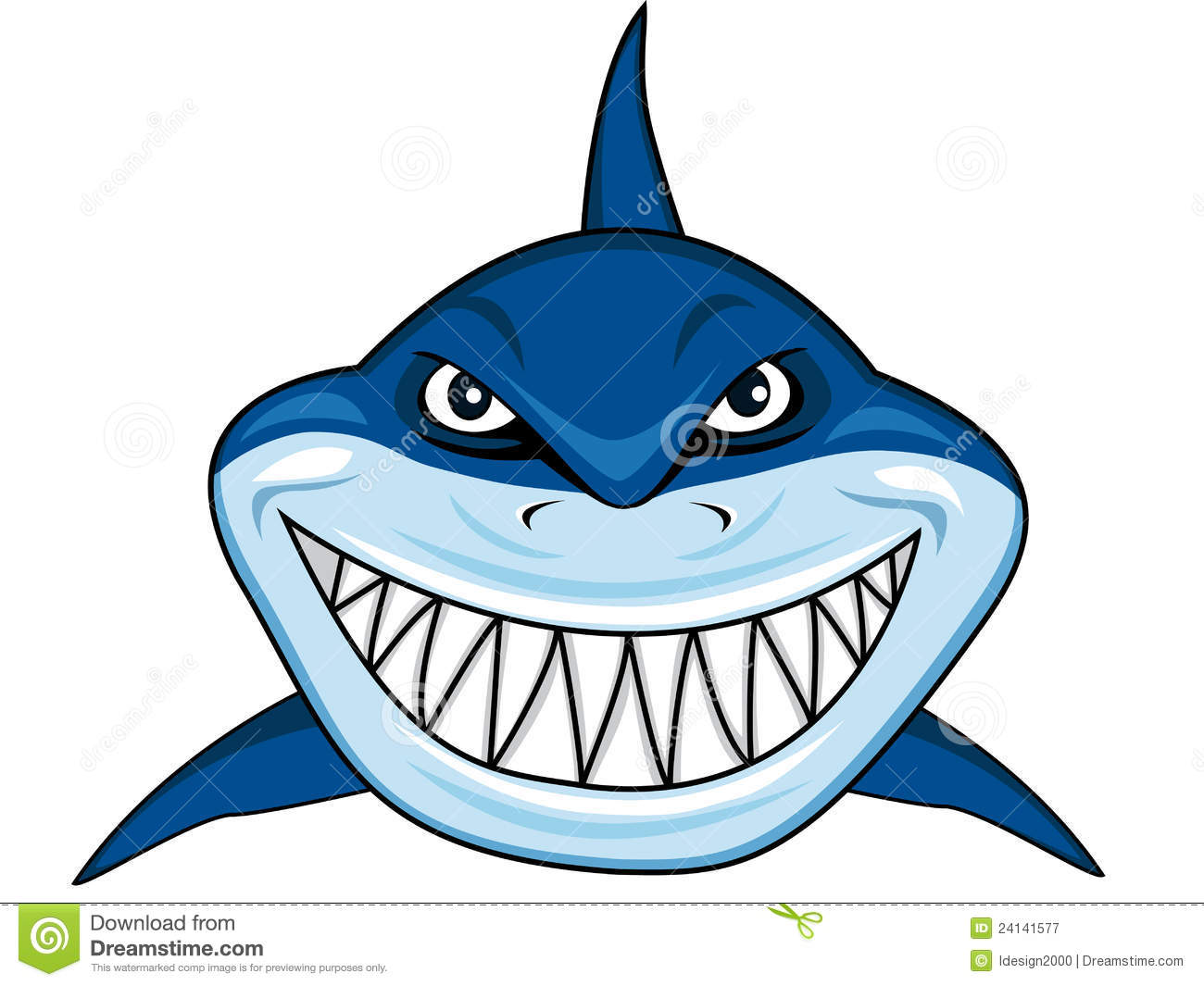 Smiling Shark Clipart | Clipart Panda - Free Clipart Images