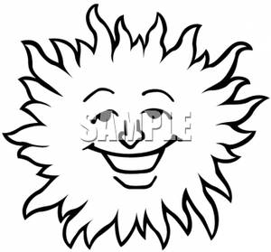 smiling sun clipart black and white clipart panda free clipart rh clipartpanda com