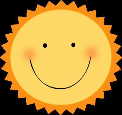 Smiling Sun Clip Art