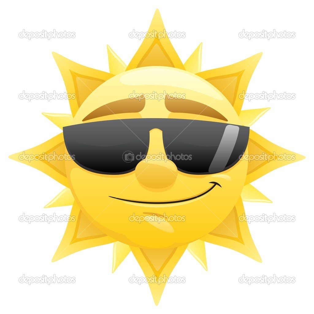 Smiling sun with sunglasses - Smiling 20sun 20with 20sunglasses