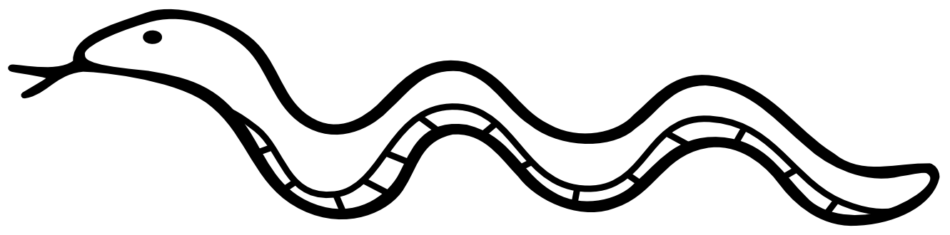 Line Drawing Snake : Snake clip art black and white clipart panda free