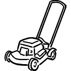 lawnmower drawing. clipart info lawnmower drawing