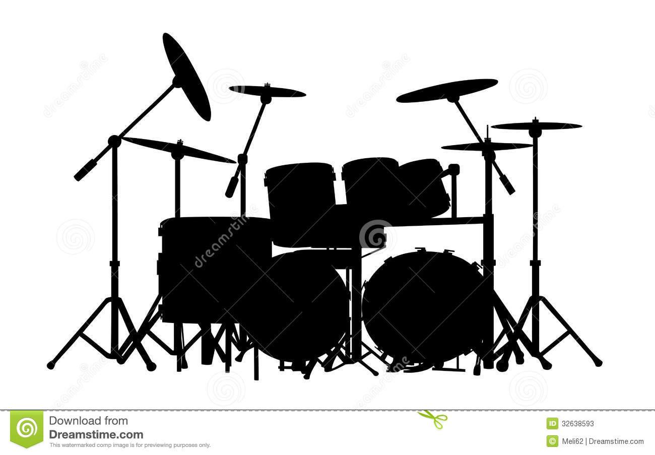 Pics Photos - Drum Clip Art Vector Drum Clip Art Drum Cli Drum White Drum Set Silhouette