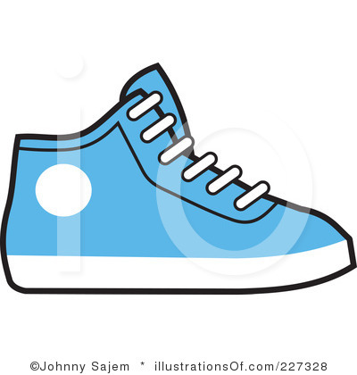 Tennis Shoes Clipart Black And White | Clipart Panda - Free ...
