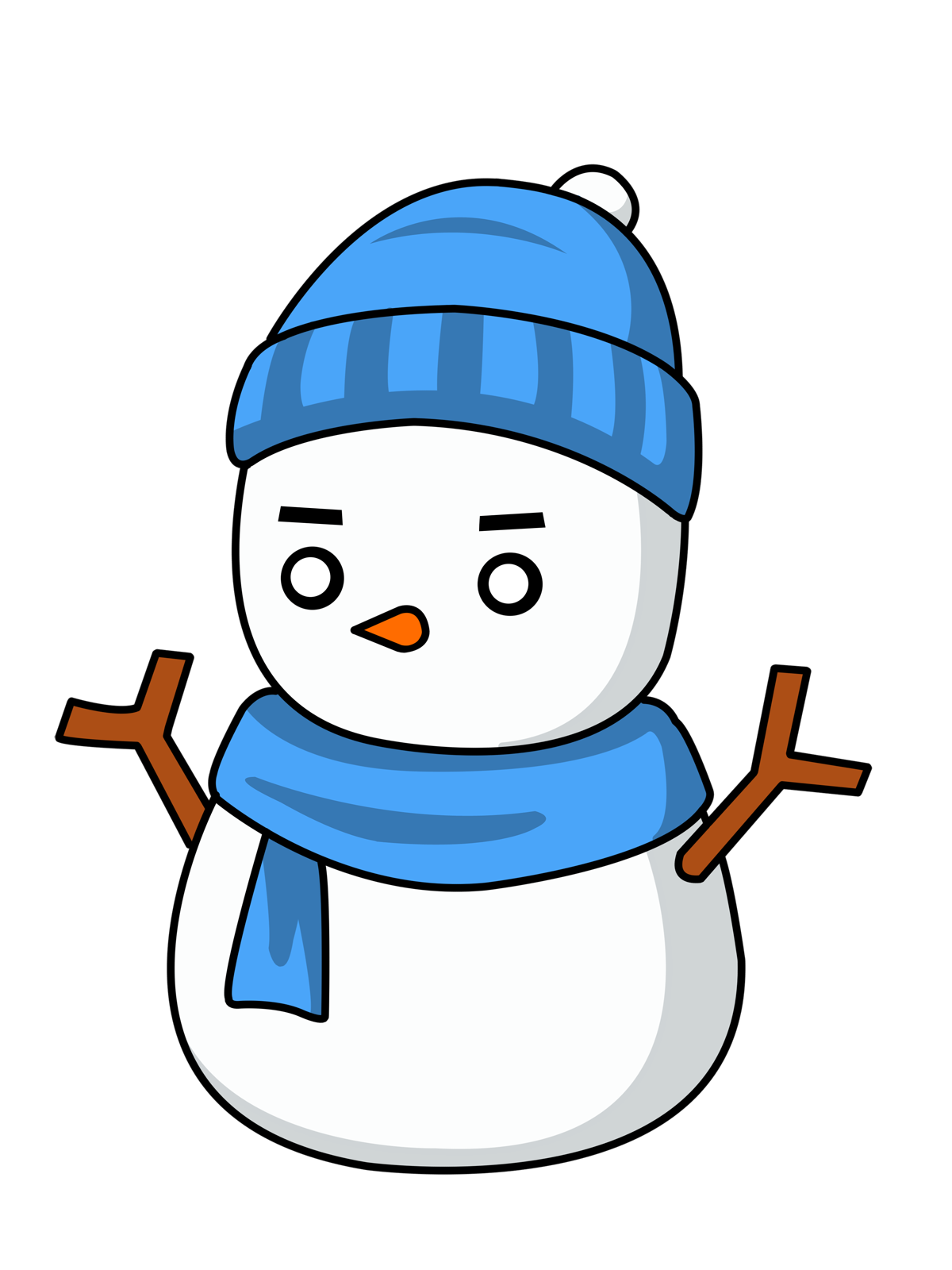 Snowman Top Hat Clipart | Clipart Panda - Free Clipart Images