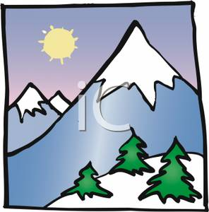 snowy mountain clipart clipart panda free clipart images