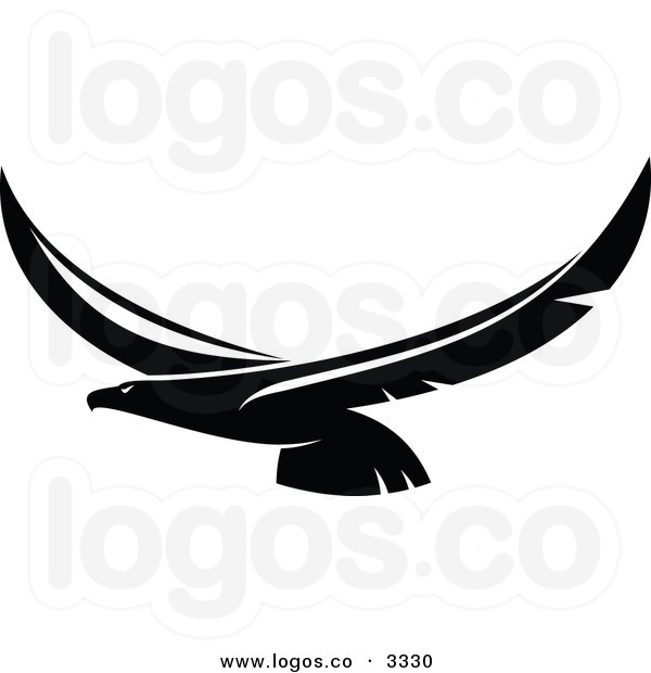 Soaring Eagle Clipart Black And White | Clipart Panda - Free Clipart ...