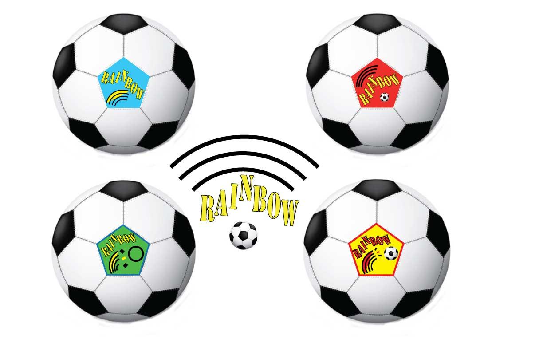 Transparent Soccer Ball Border Clipart - Soccer Ball Cartoon Transparent,  HD Png Download , Transparent Png Image - PNGitem