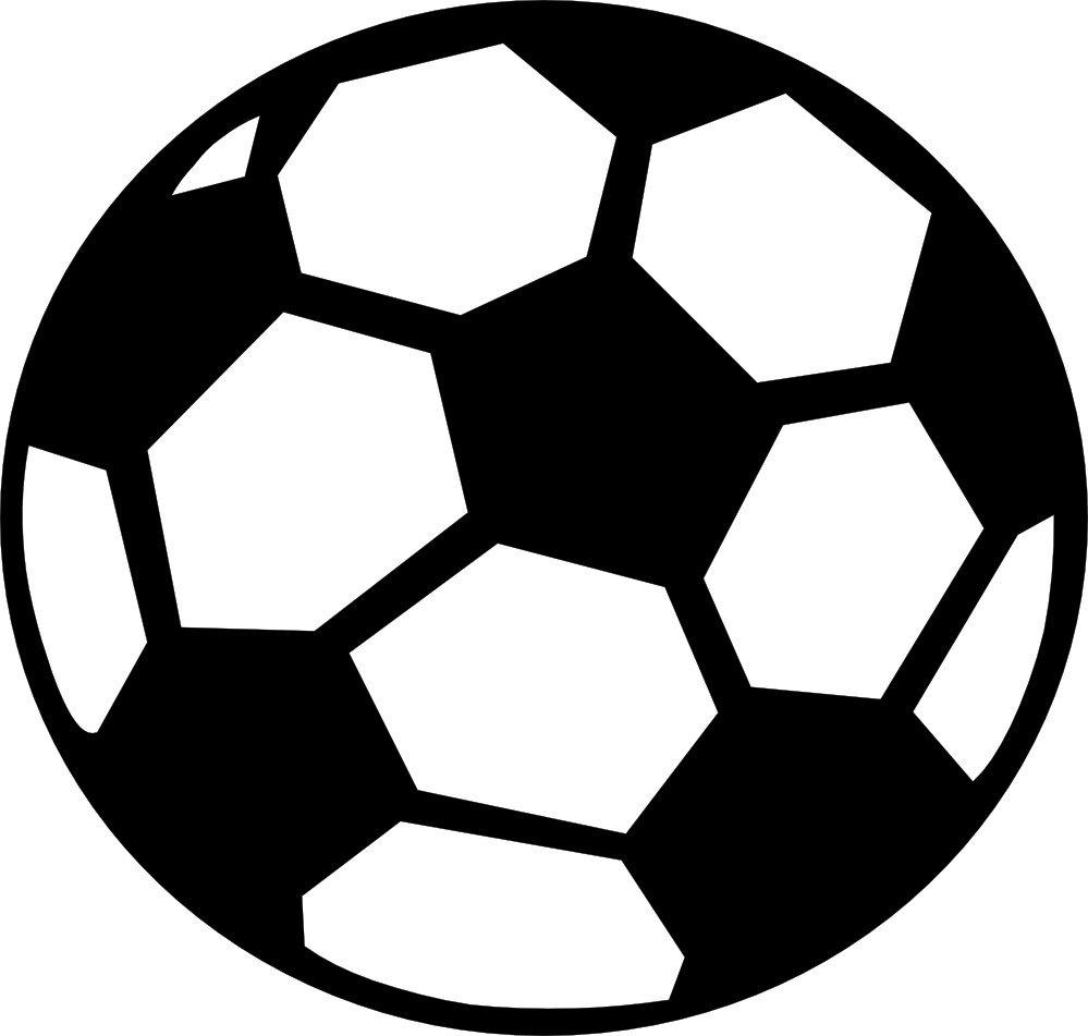 Superb Soccer Ball Clipart Black And White
