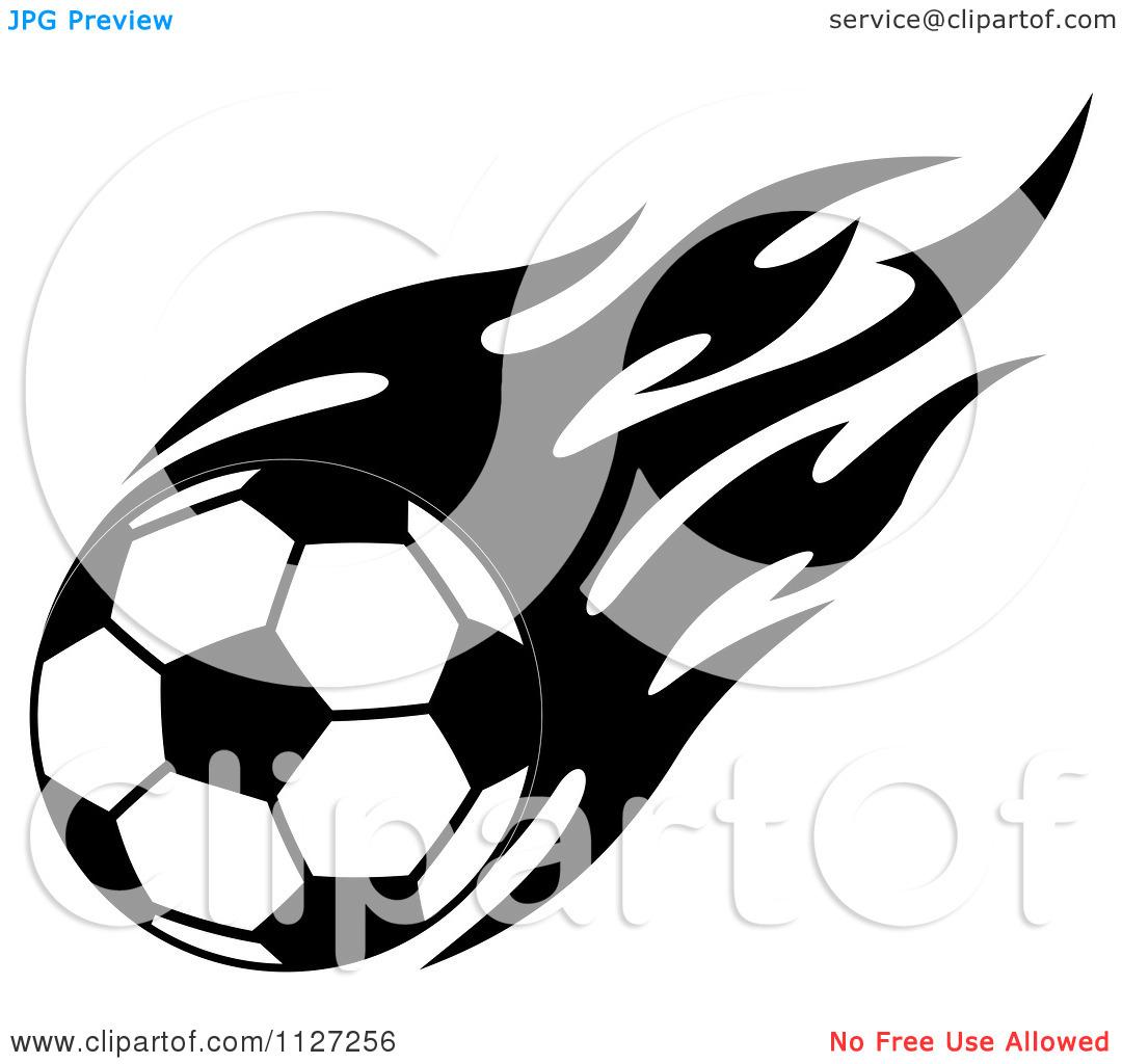 Soccer goal clipart black and white