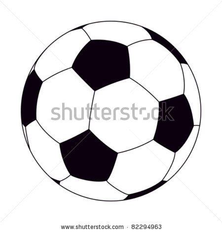 Soccer Ball Clipart Black And White | Clipart Panda - Free Clipart ...