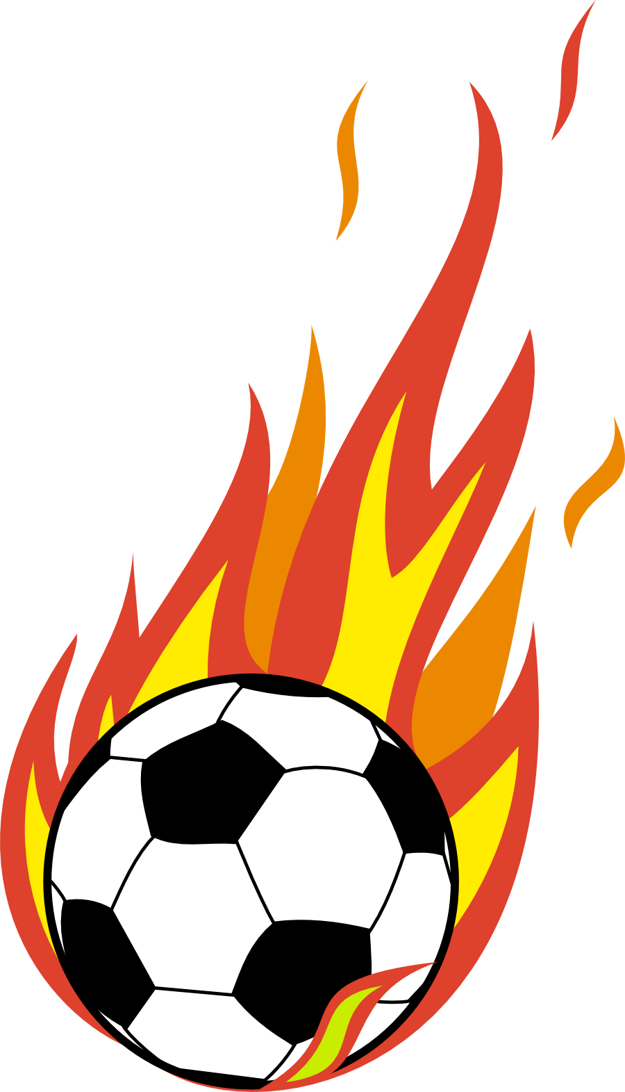 soccer ball with flames clipart clipart panda free soccer clip art images soccer clip art free download