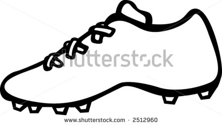 How to draw a soccer cleat