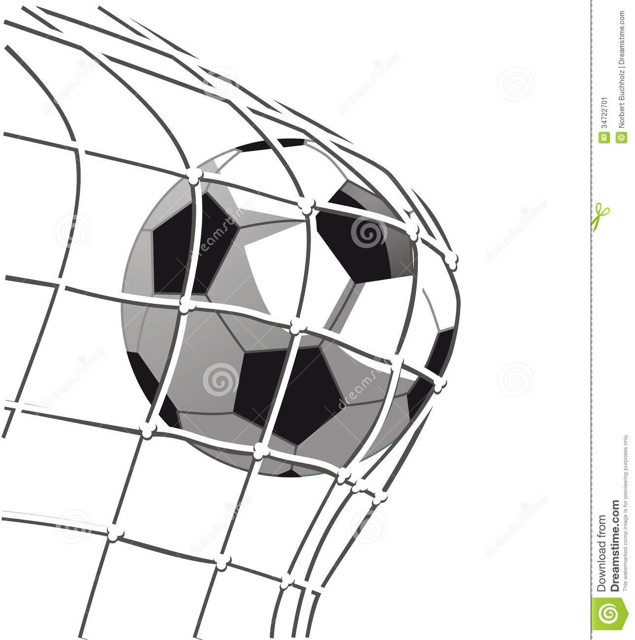 soccer-goal-clipart-soccer-ball-goal-illustration-hitting-net-34722701 ...