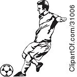 soccer%20goalie%20clipart%20black%20and%20white
