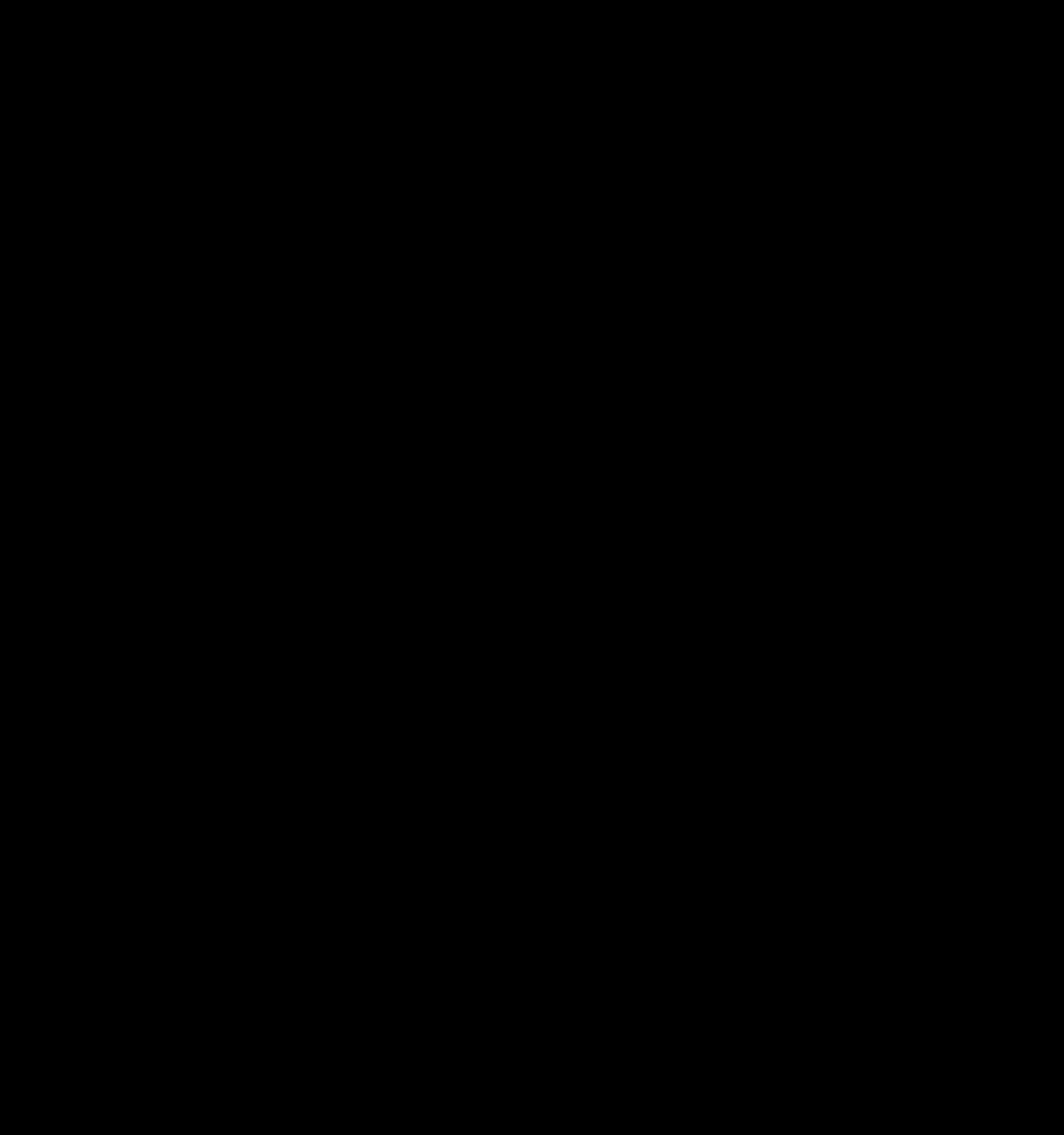 Soccer kick silhouette