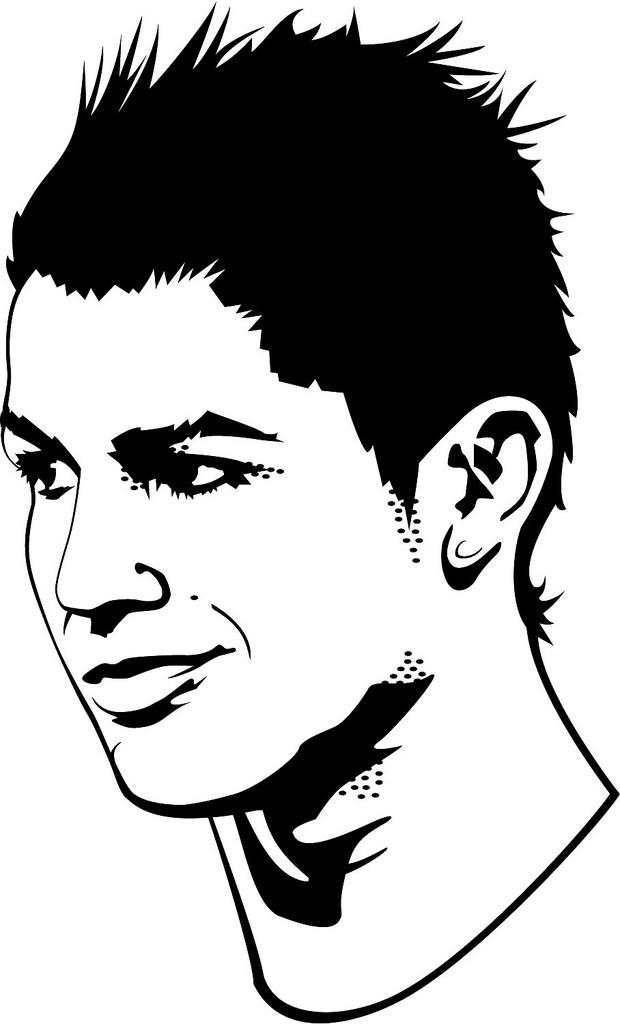Soccer Kick Ronaldo Cristiano Portrait Manchester United