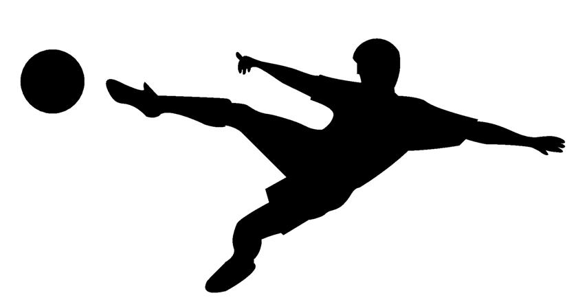 Soccer Player Silhouette | Clipart Panda - Free Clipart Images