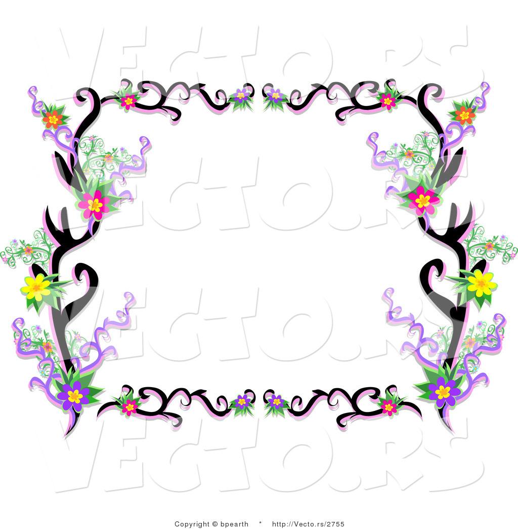 Pink butterfly border clipart panda free clipart images - Social 20studies 20teacher 20clipart