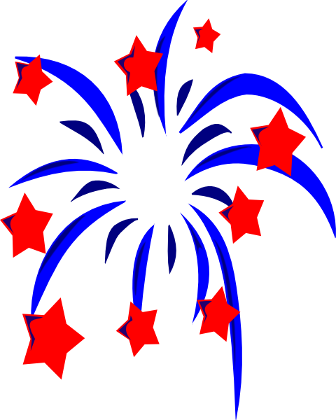 4th Of July Fireworks Clipart | Clipart Panda - Free Clipart Images